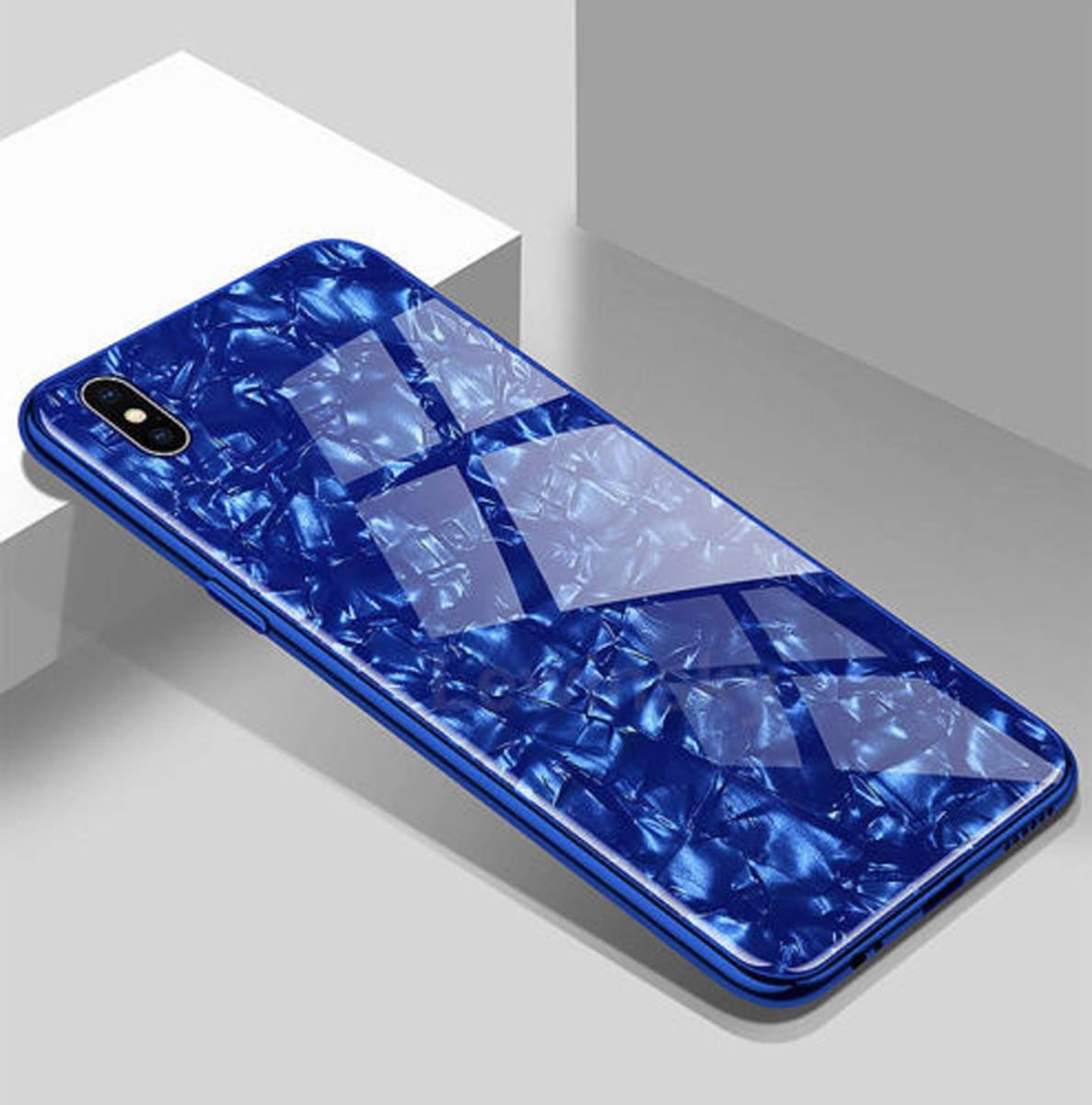 Luxury-Marble-Tempered-Glass-Case-Cover-For-Apple-iPhone-X-XS-XR-Max-10-8-7-6s-6 thumbnail 41