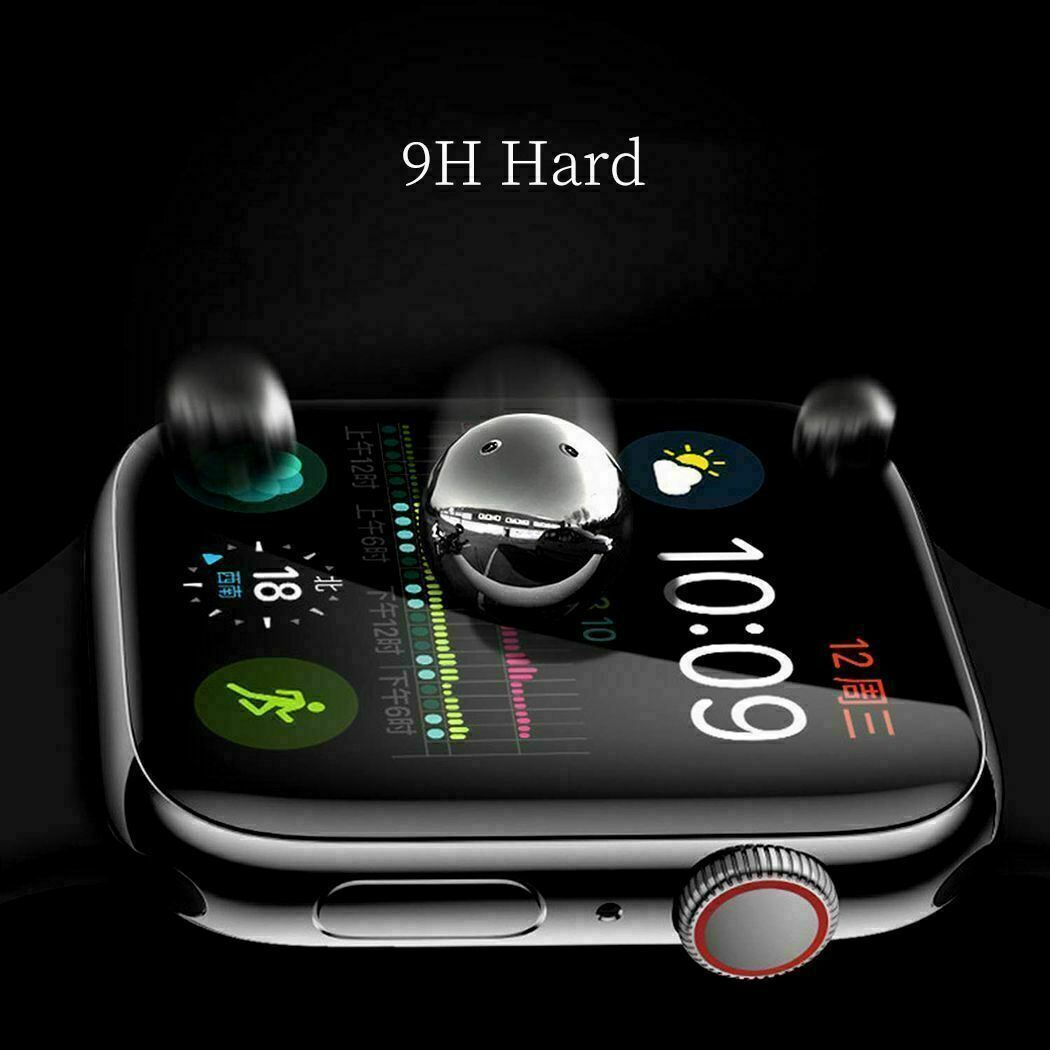 Curved-Screen-Protector-For-Apple-Watch-3D-Glass-Scratchproof-Anti-Fingerprint thumbnail 22