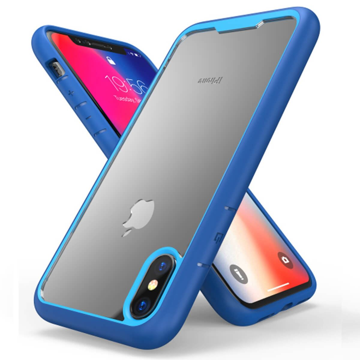 Shockproof-Bumper-Case-For-iPhone-X-XS-XR-6-Plus-7-Plus-6-Plus-Hard-Armor thumbnail 9