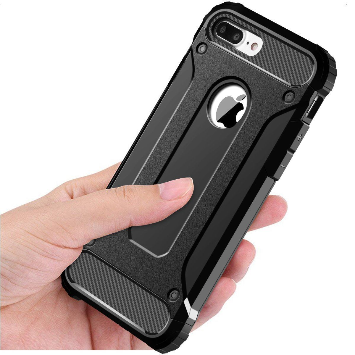 Hybrid-Armor-Shockproof-Rugged-Bumper-Case-For-Apple-iPhone-10-X-8-7-Plus-6s-5s miniature 28