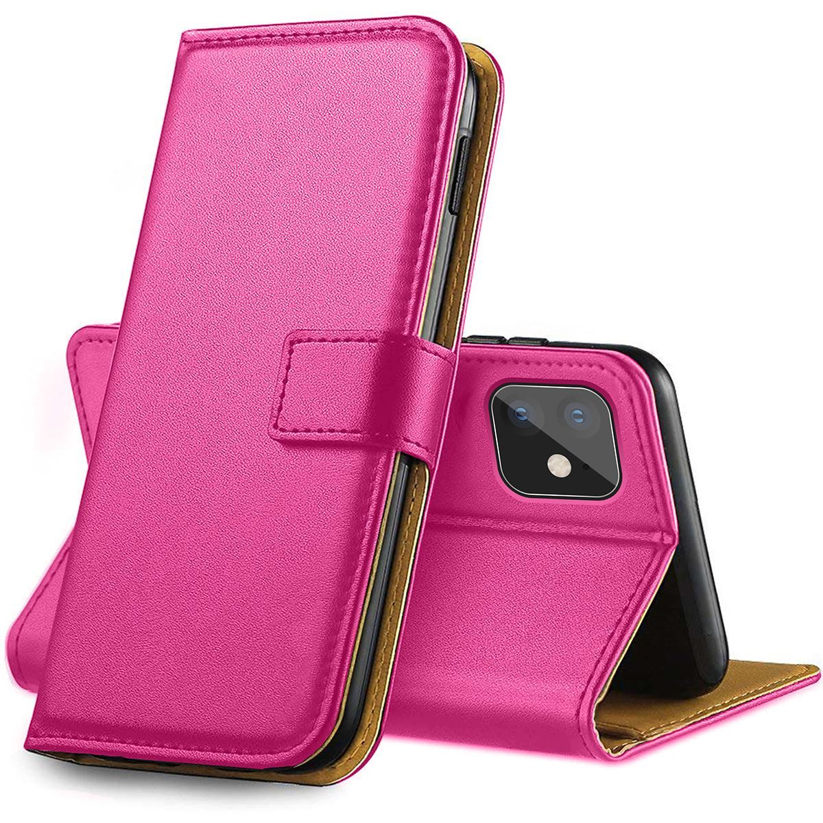 thumbnail 26 - For Apple iPhone 12 11 XR XS Max Leather Flip Wallet Magnetic Stand Card Case