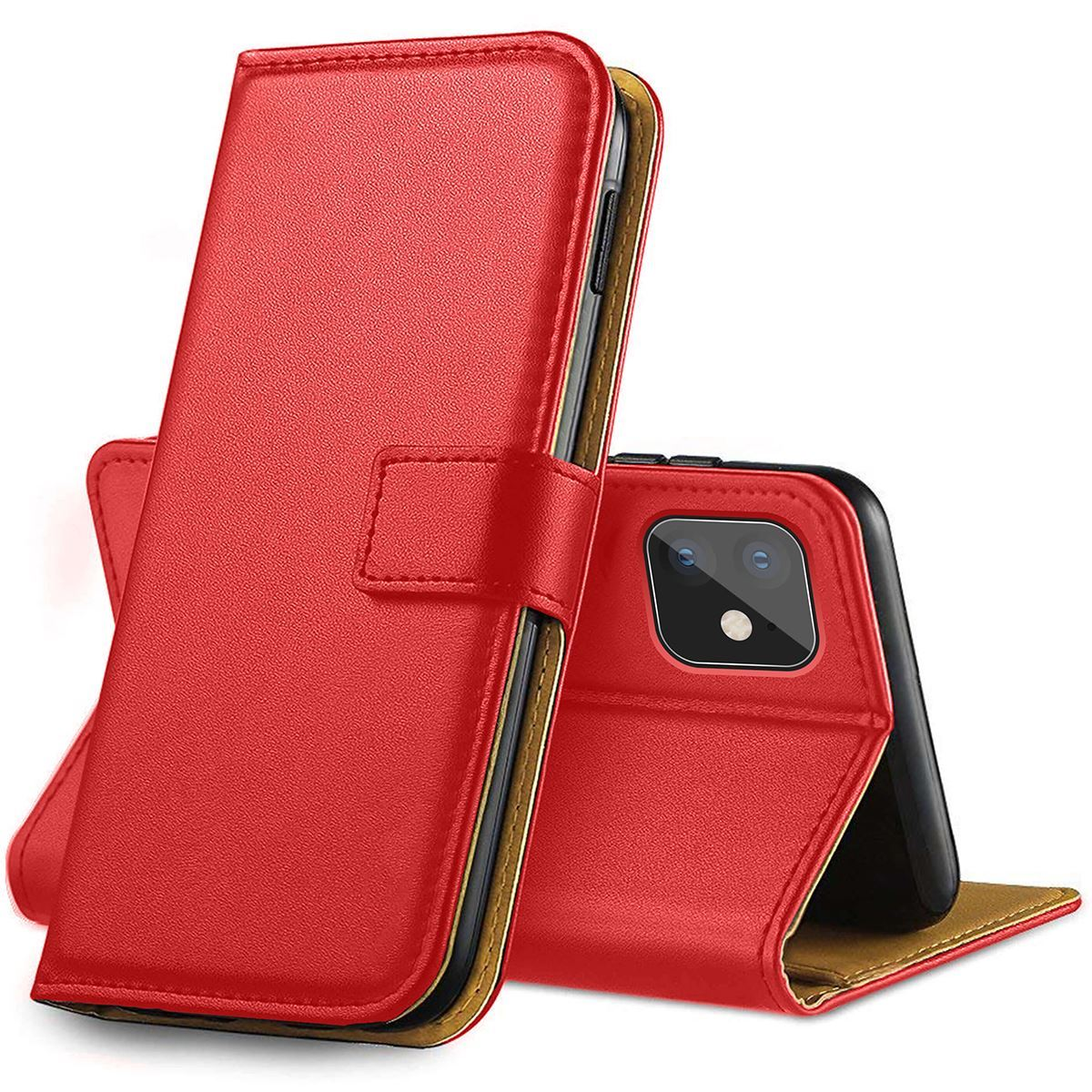 thumbnail 48 - For Apple iPhone 12 11 XR XS Max Leather Flip Wallet Magnetic Stand Card Case