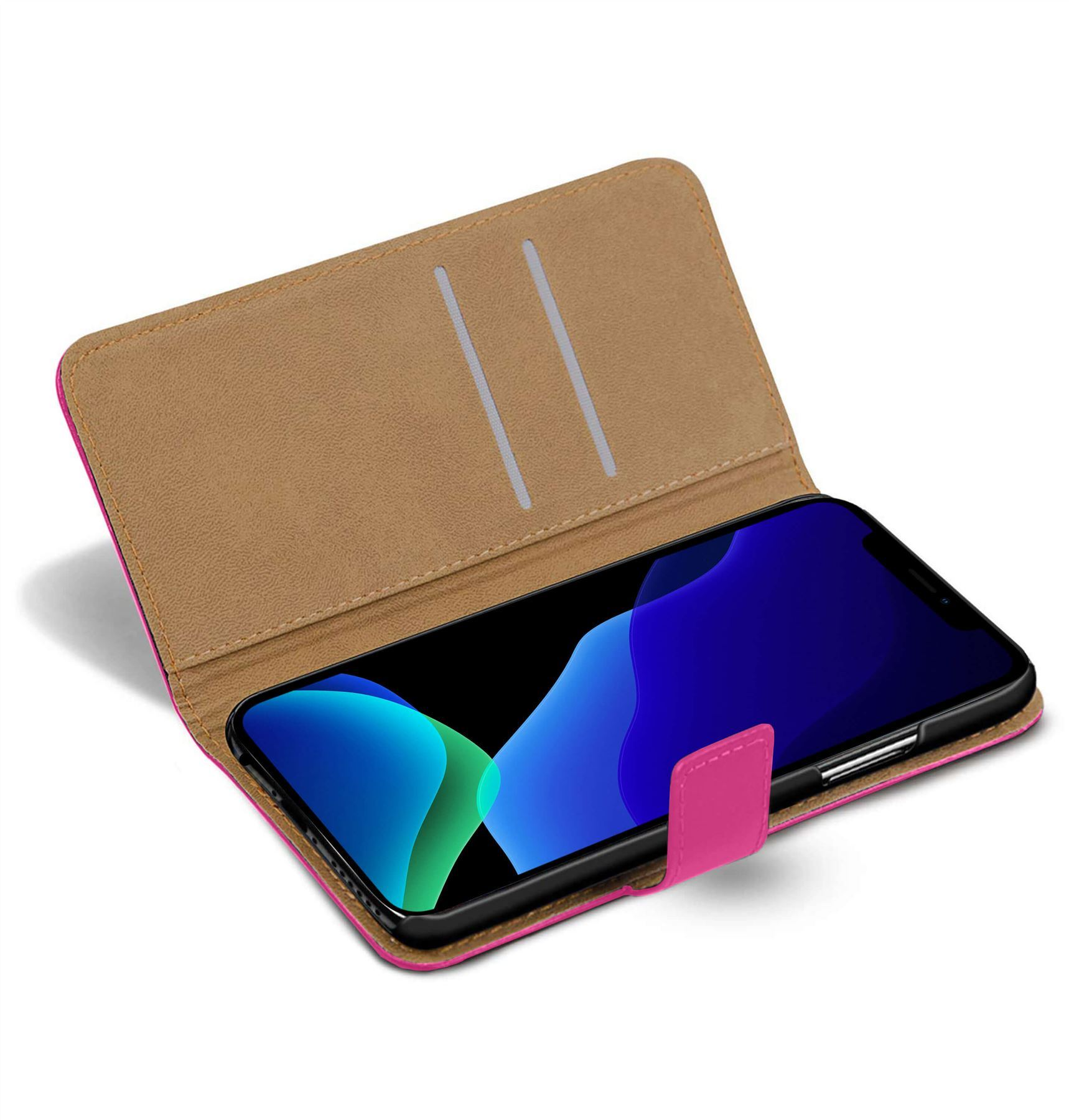 thumbnail 31 - For Apple iPhone 12 11 XR XS Max Leather Flip Wallet Magnetic Stand Card Case