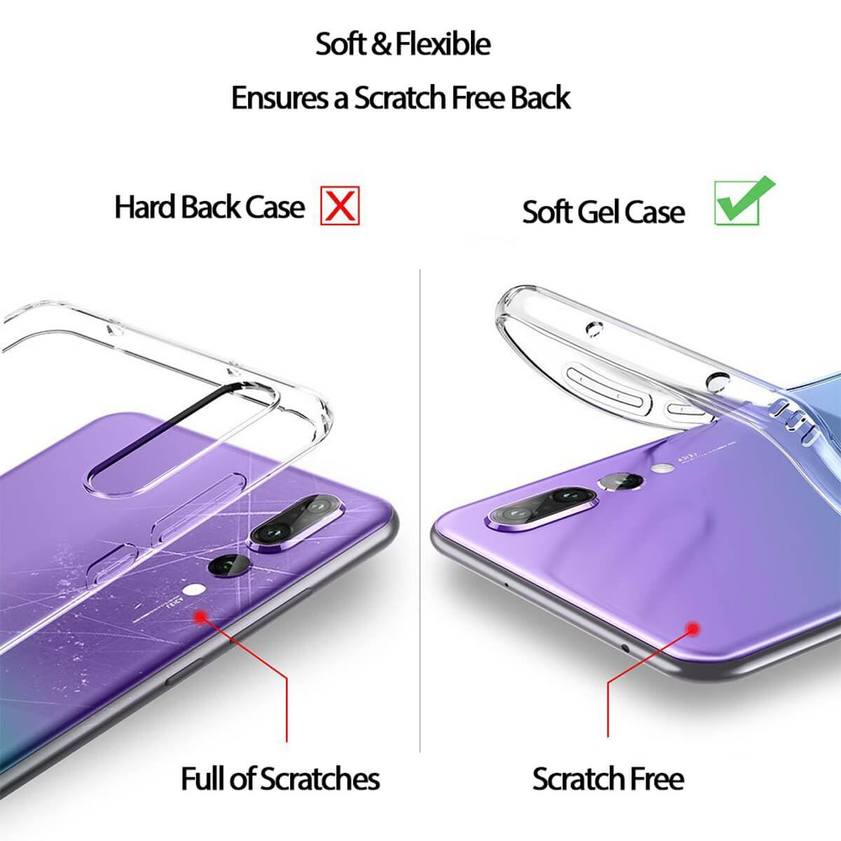 Shockproof-Silicone-Protective-Clear-Gel-Cover-Case-For-Huawei-P20-Pro-P-Smart thumbnail 30