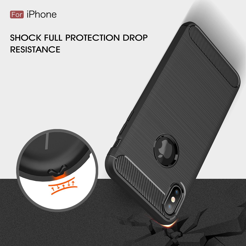 thumbnail 31 - For Apple iPhone XR Xs Max X 8 7 Plus 6 5 Se 2020 Case Cover Soft Flexible Grip
