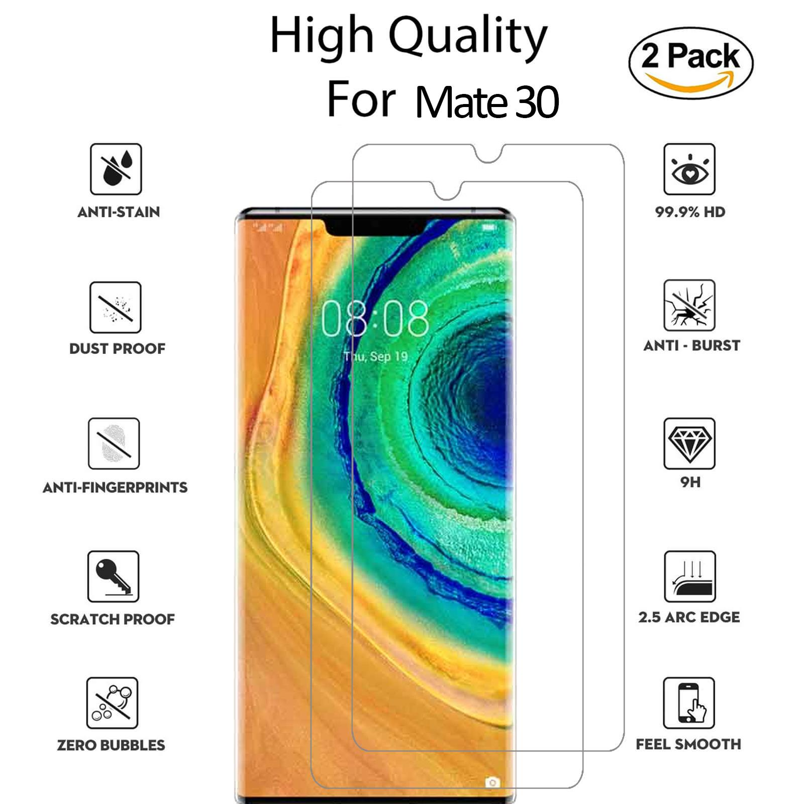 For-Huawei-Tempered-Glass-New-Full-Screen-Protector-Mate-20-P20-P30-Pro-Lite thumbnail 131
