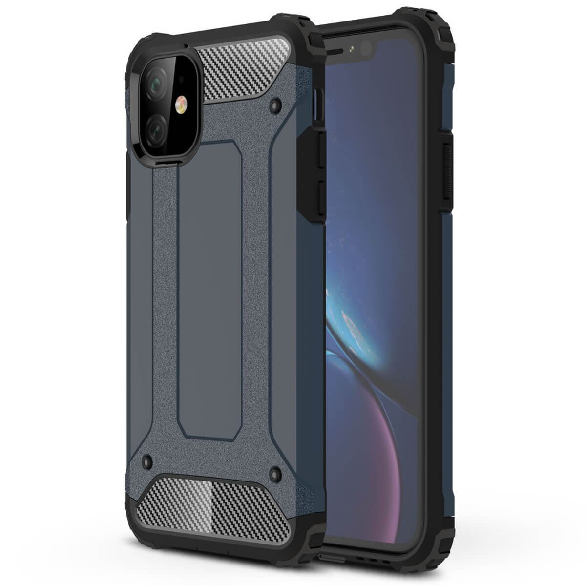 Shockproof-Bumper-Case-For-Apple-iPhone-10-X-8-7-Plus-6s-5s-Hybrid-Armor-Rugged thumbnail 17