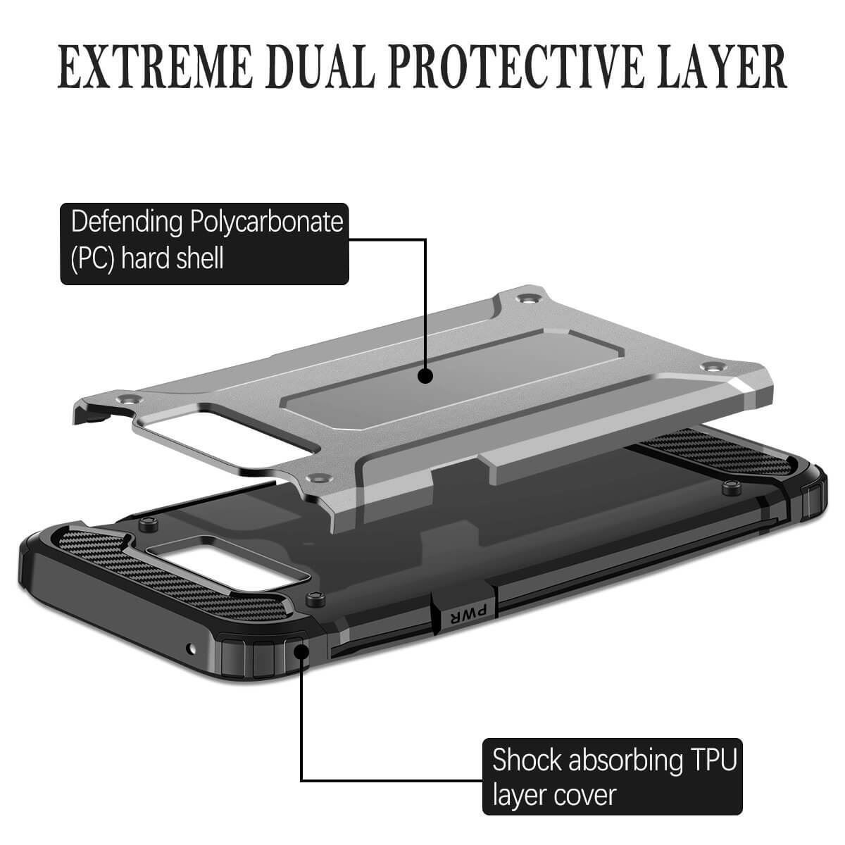 Hybrid-Armor-Shockproof-Rugged-Bumper-Case-For-Samsung-Galaxy-S7-Edge-S8-Note-S9 縮圖 62