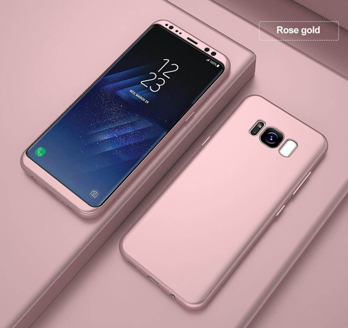 New-ShockProof-Hybrid-360-TPU-Thin-Case-Cover-For-Samsung-Galaxy-S7-edge-S8-S9 miniatuur 30