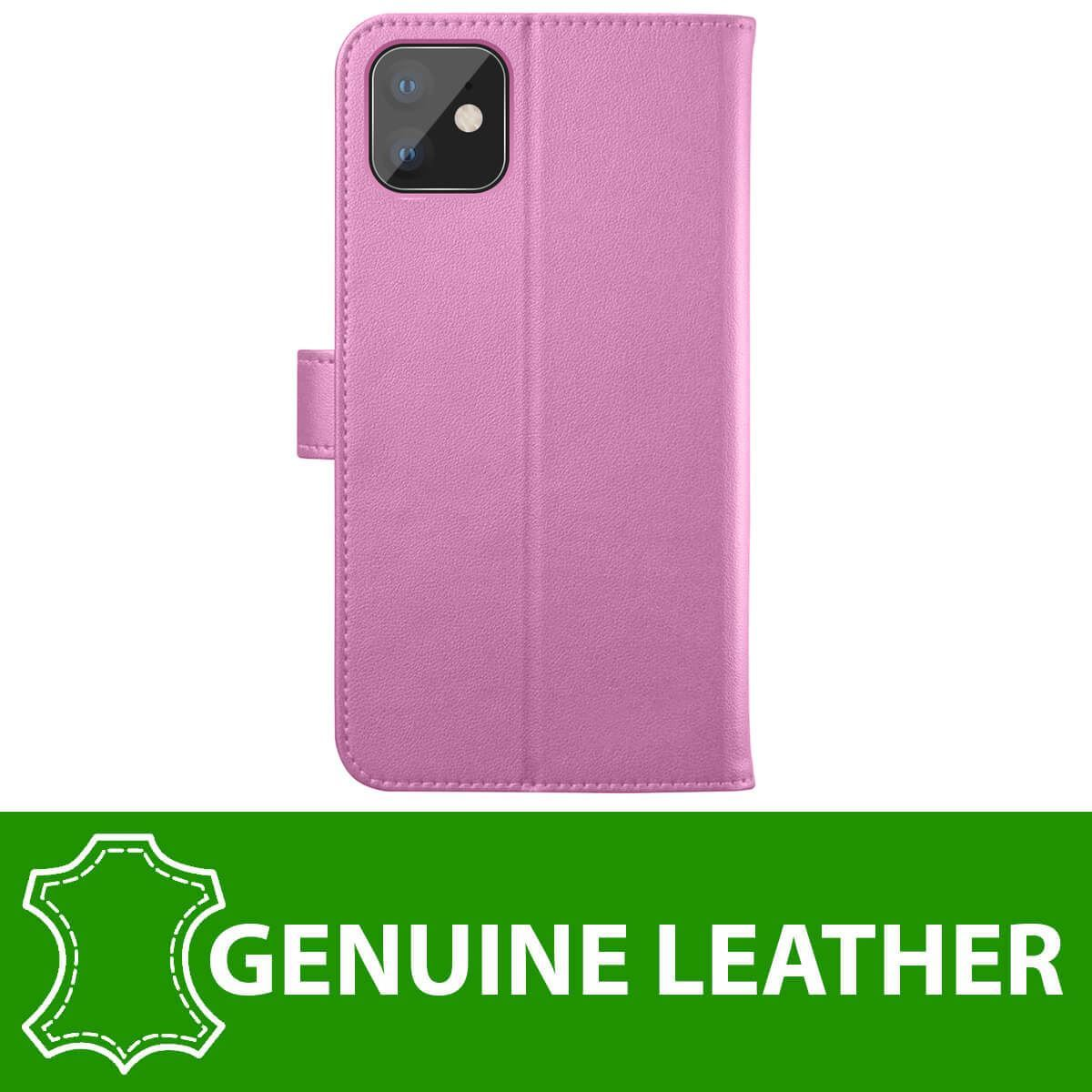 thumbnail 40 - For Apple iPhone 12 11 XR XS Max Leather Flip Wallet Magnetic Stand Card Case