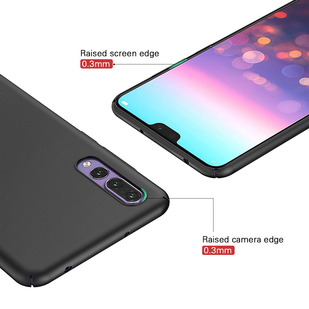 Luxury-Protective-Slim-Thin-Hard-Back-Case-Cover-For-Huawei-P20-Pro-P10-P-Smart thumbnail 15