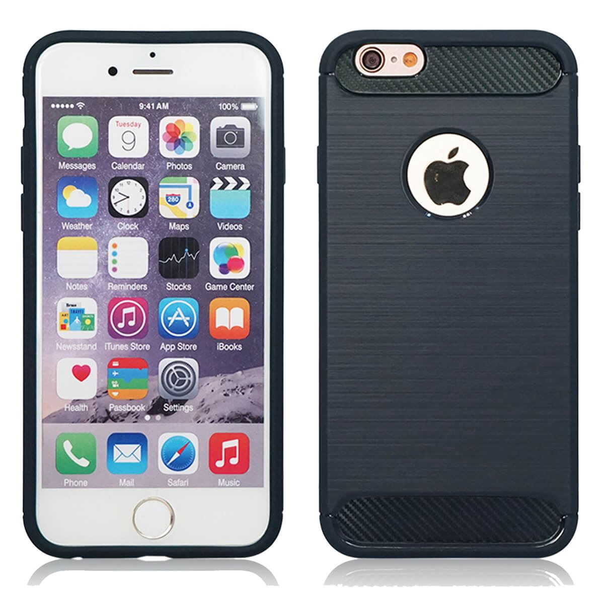 Shockproof-Bumper-Case-Apple-iPhone-10-X-8-7-6s-Se-5s-5-Luxury-Ultra-Slim-Cover thumbnail 10