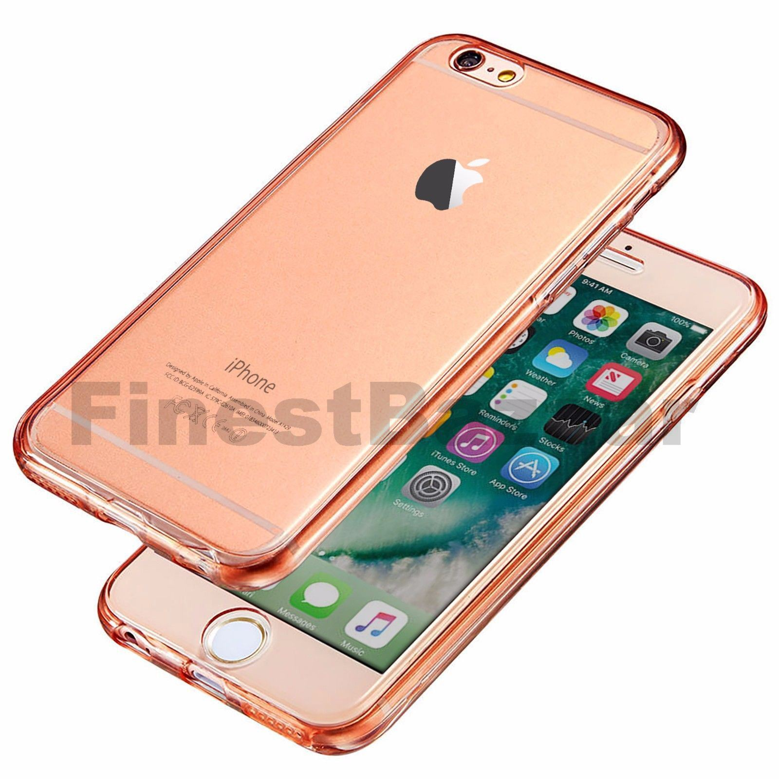 Hybrid-360-New-Shockproof-Case-TPU-Gel-Skin-Cover-For-Apple-iPhone-8-7-5s-6s-SE miniature 68