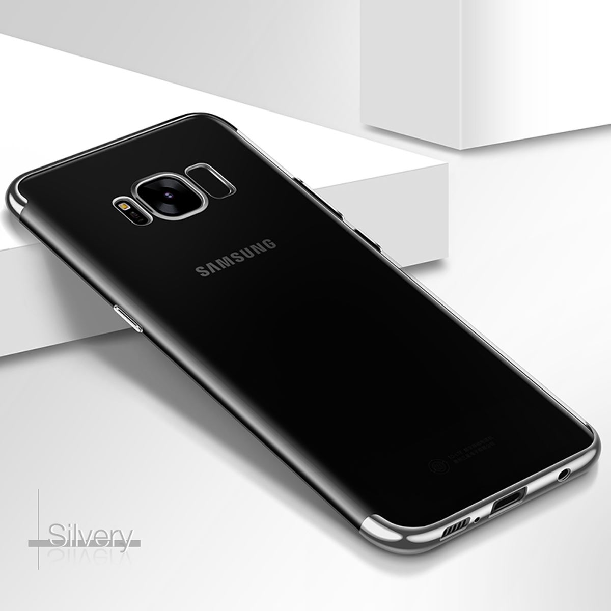 Luxury-Slim-Shockproof-Silicone-Clear-Case-Cover-For-Samsung-Galaxy-S7-S8-S9-A6 thumbnail 59