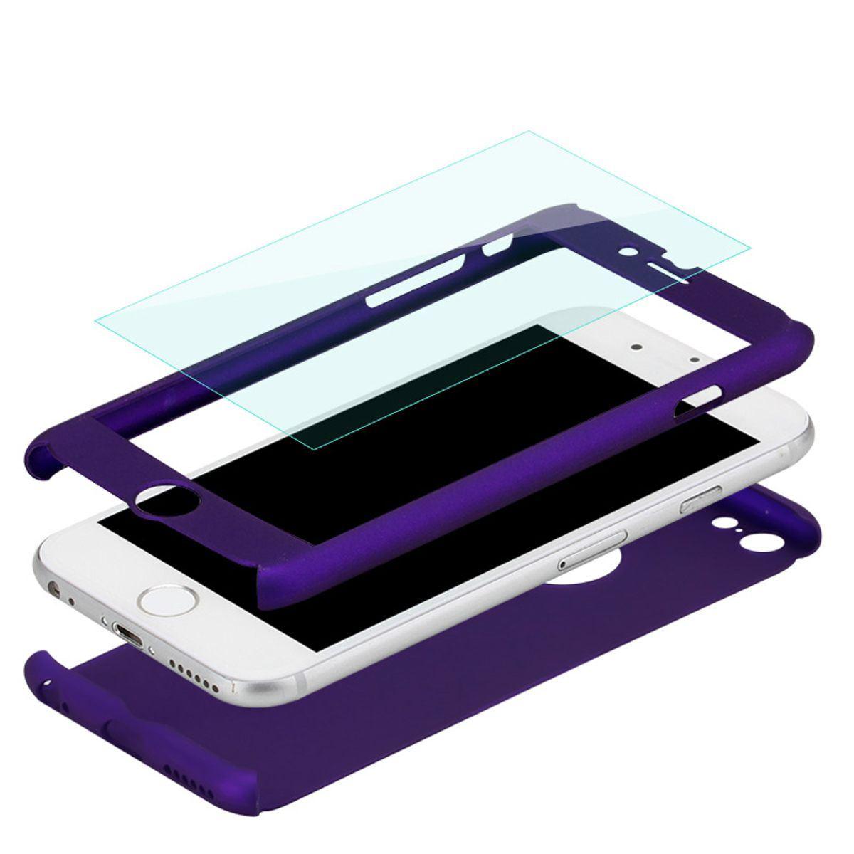 For-Apple-iPhone-XS-Max-XR-Hybrid-360-Slim-Ultra-Thin-Heavy-Duty-Shockproof-Case Indexbild 81