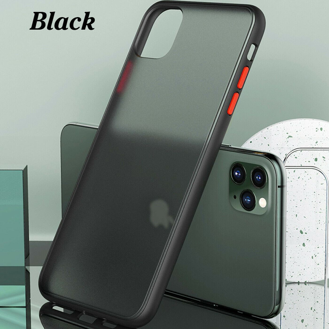 thumbnail 3 - Bumper Anti-Fall Case For Apple 11 X 8 7 6 Se Ultra Thin TPU & PC Cover