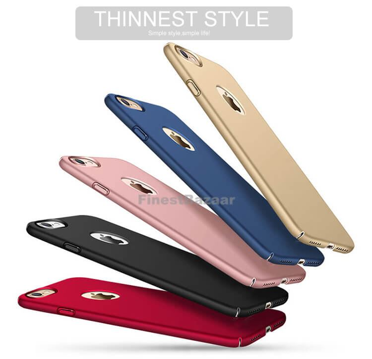 Luxury-Ultra-Thin-Slim-Acrylic-Hard-Back-Case-Cover-Apple-iPhone-10-X-8-7-6s-5s miniatuur 45