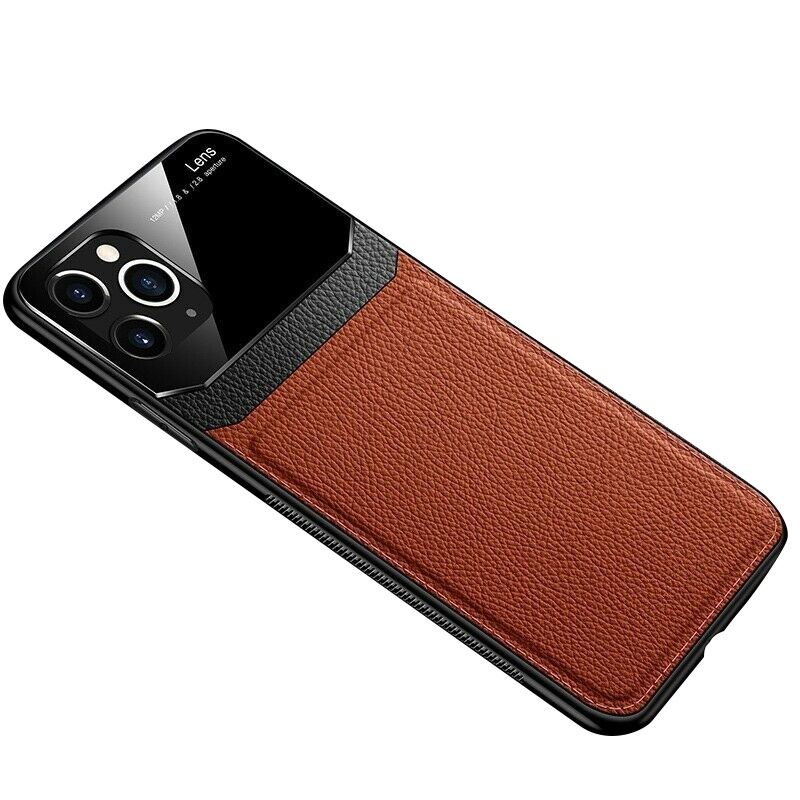 thumbnail 15 - Leather Back Cover Case For Apple iPhone 11 X 8 7 6 Se Protective Lens & Screen