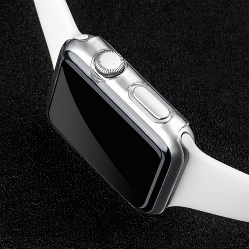 TPU-Gel-Case-For-Apple-Watch-Responsive-Touch-Full-Screen-Curved-Edge-Protective thumbnail 29