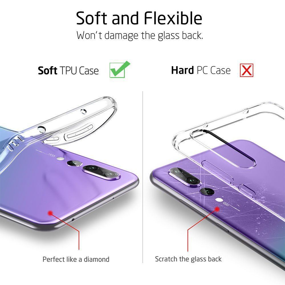 Shockproof-Silicone-Protective-Clear-Gel-Cover-Case-For-Huawei-P20-Pro-P-Smart thumbnail 88