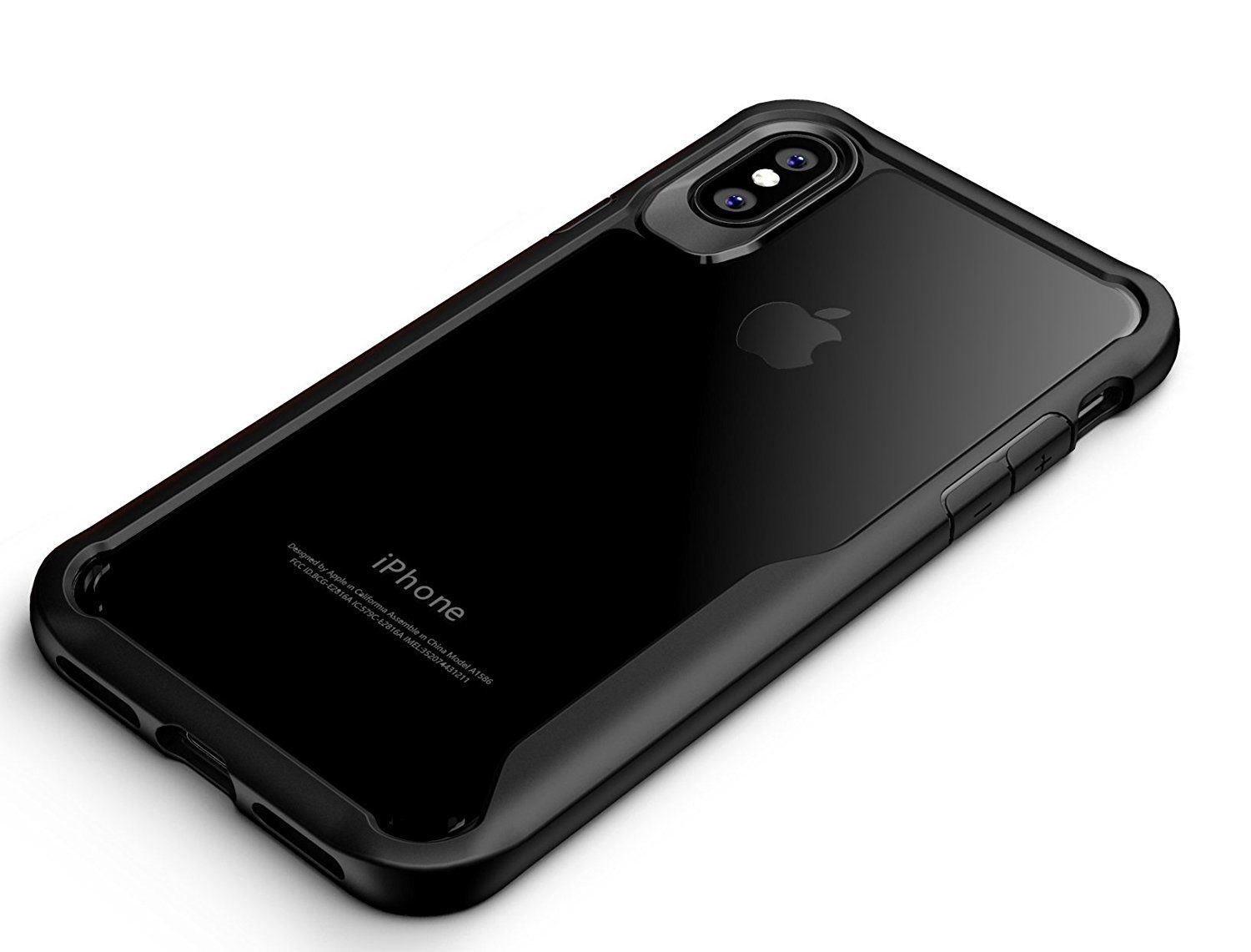 Shockproof-Clear-Thin-Hard-Bumper-TPU-Case-Cover-For-Apple-iPhone-X-8-7-Plus-6s miniatuur 34