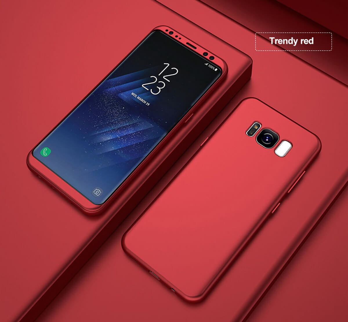 New ShockProof Hybrid 360 TPU Thin Case Cover For Samsung ...