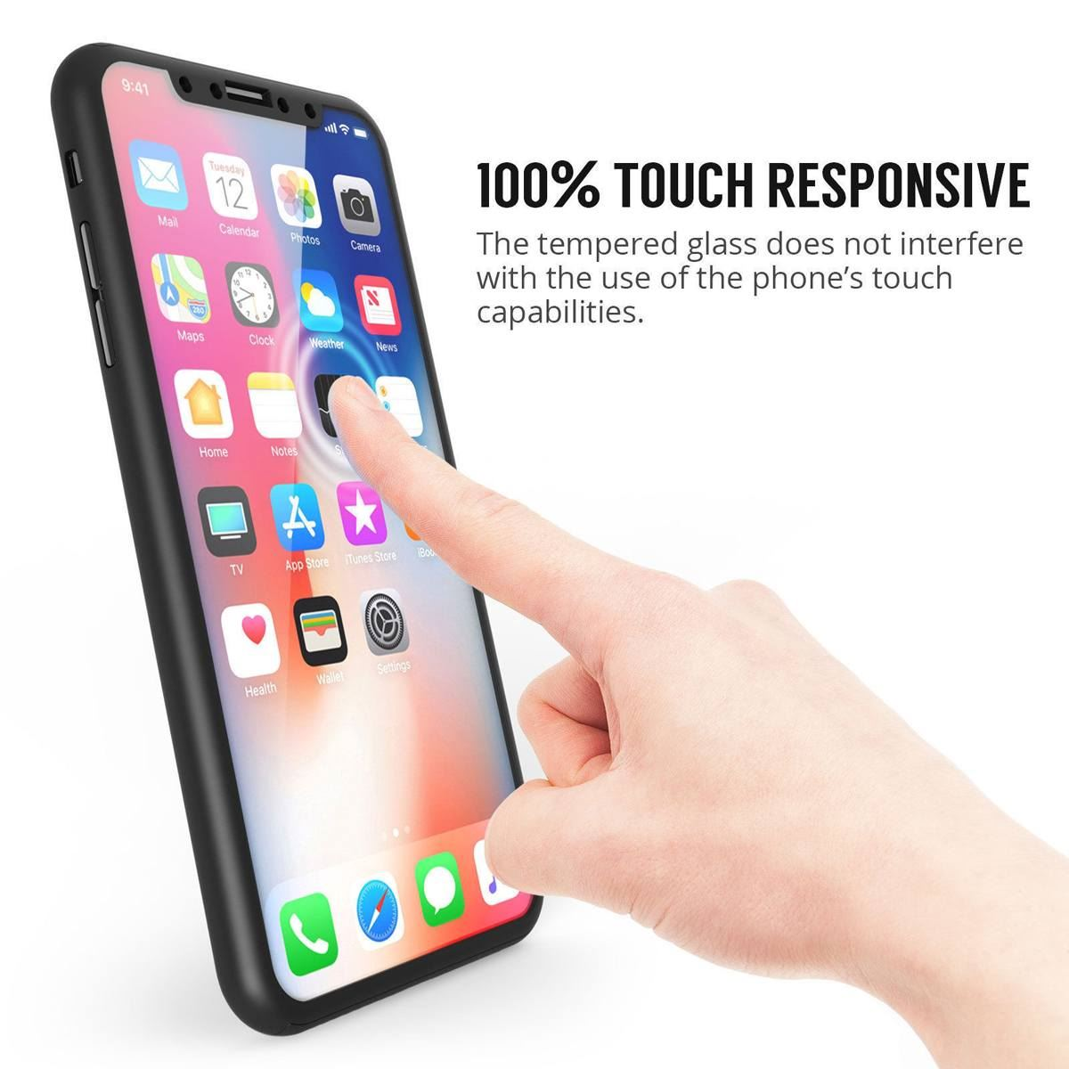 For-Apple-iPhone-XS-Max-XR-Hybrid-360-Slim-Ultra-Thin-Heavy-Duty-Shockproof-Case thumbnail 90