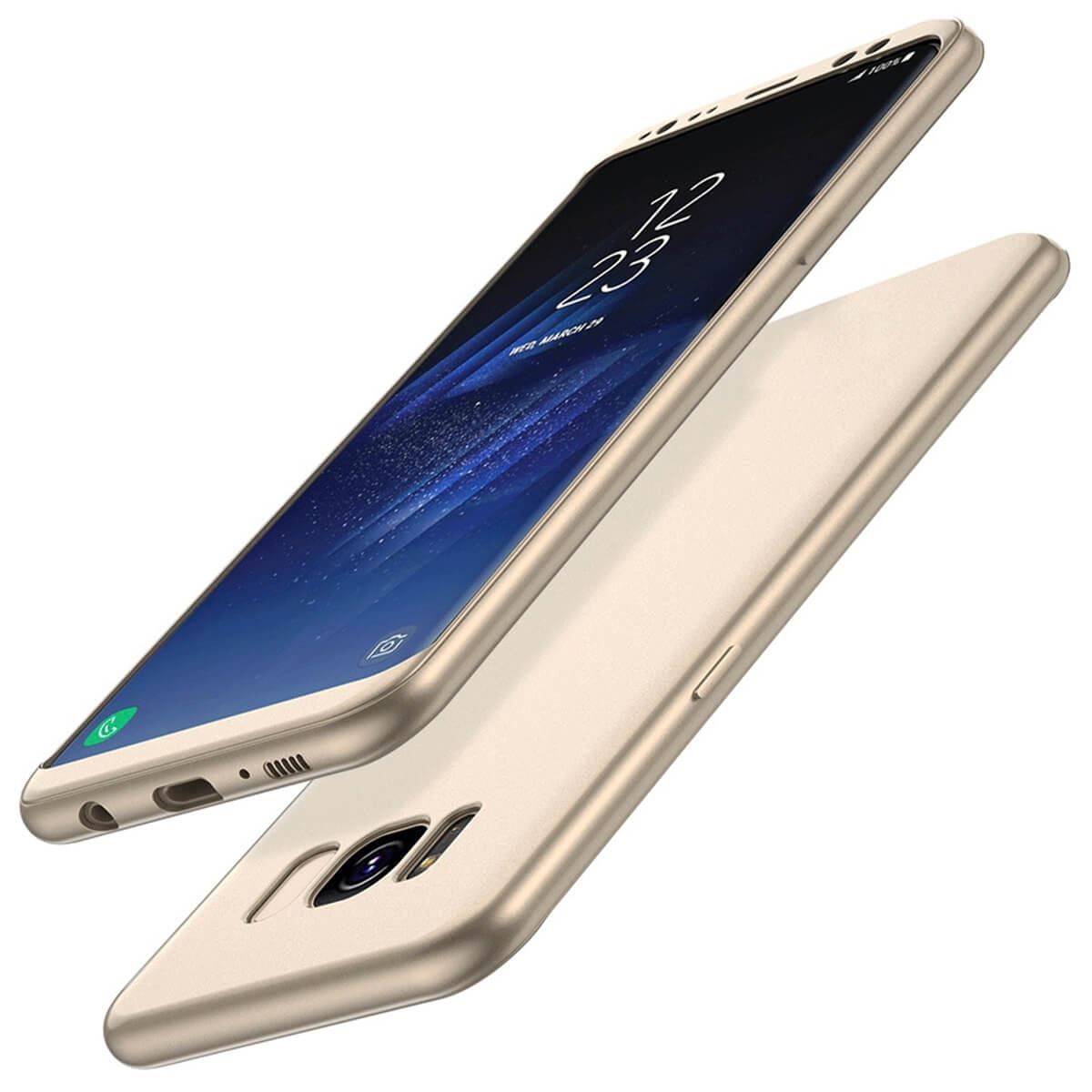 ShockProof-Thin-Case-For-Samsung-Galaxy-S7-edge-S8-Plus-Hybrid-360-TPU-Cover thumbnail 10