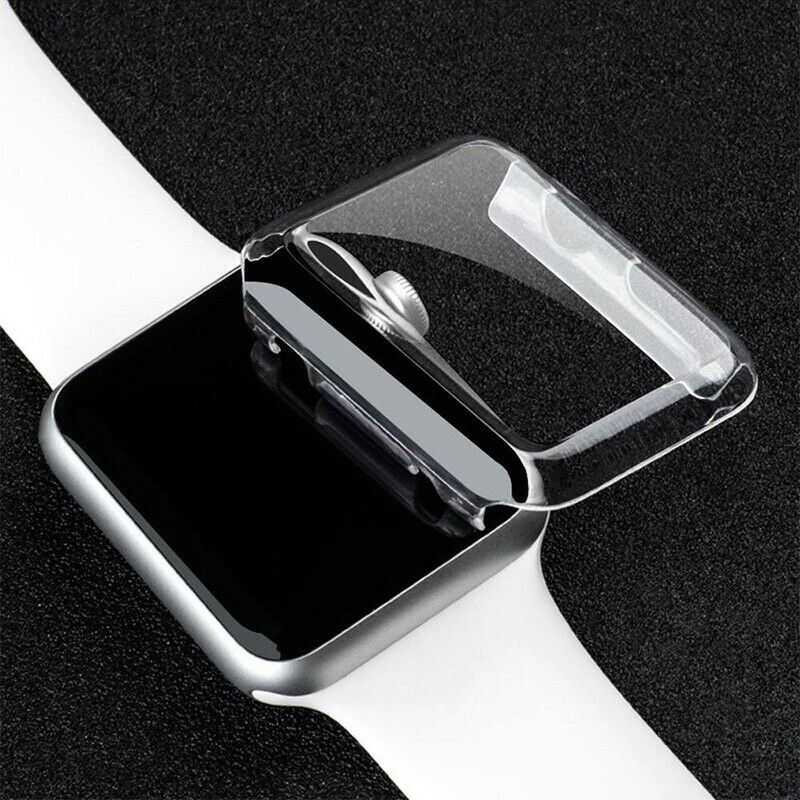 TPU-Gel-Case-For-Apple-Watch-Responsive-Touch-Full-Screen-Curved-Edge-Protective thumbnail 16