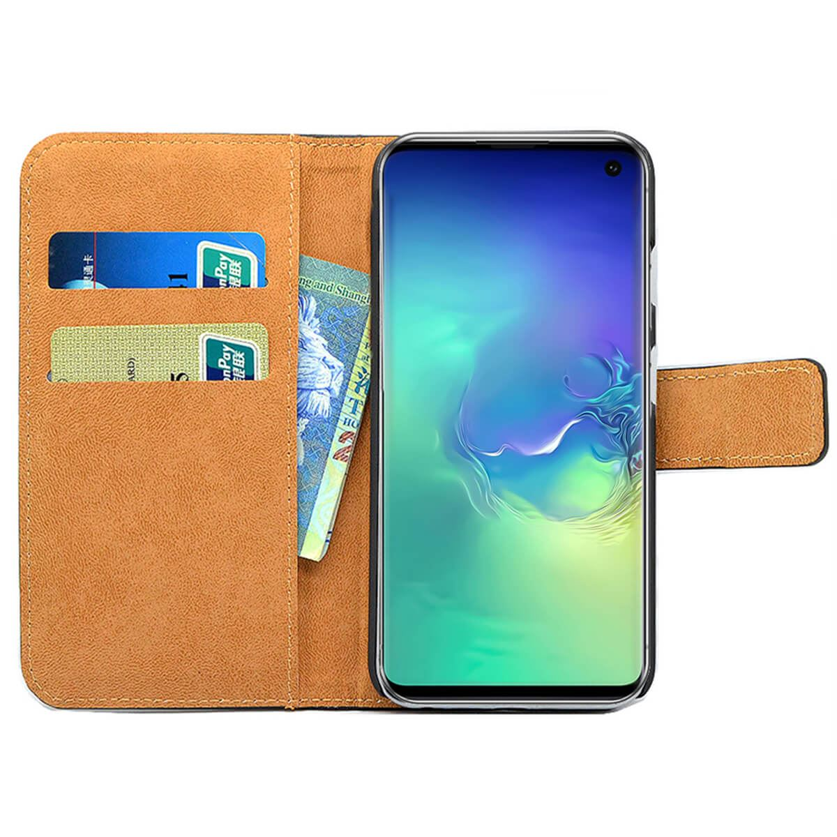 Magnetic-Flip-Wallet-Case-For-Samsung-Galaxy-S10-Plus-S9-S8-A50-Leather-Cover thumbnail 3