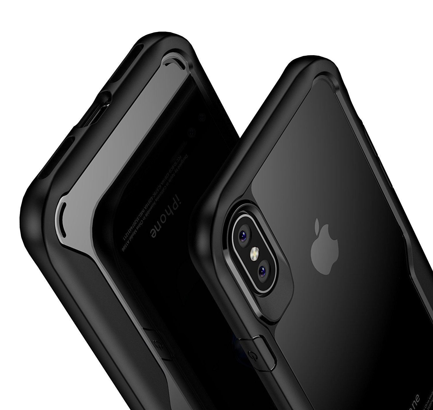 Shockproof-Clear-Thin-Hard-Bumper-TPU-Case-Cover-For-Apple-iPhone-X-8-7-Plus-6s miniatuur 18