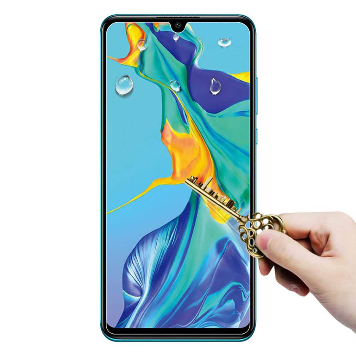 Full-Screen-Protector-For-Mate-20-P20-P30-Pro-Lite-Tempered-Glass thumbnail 3