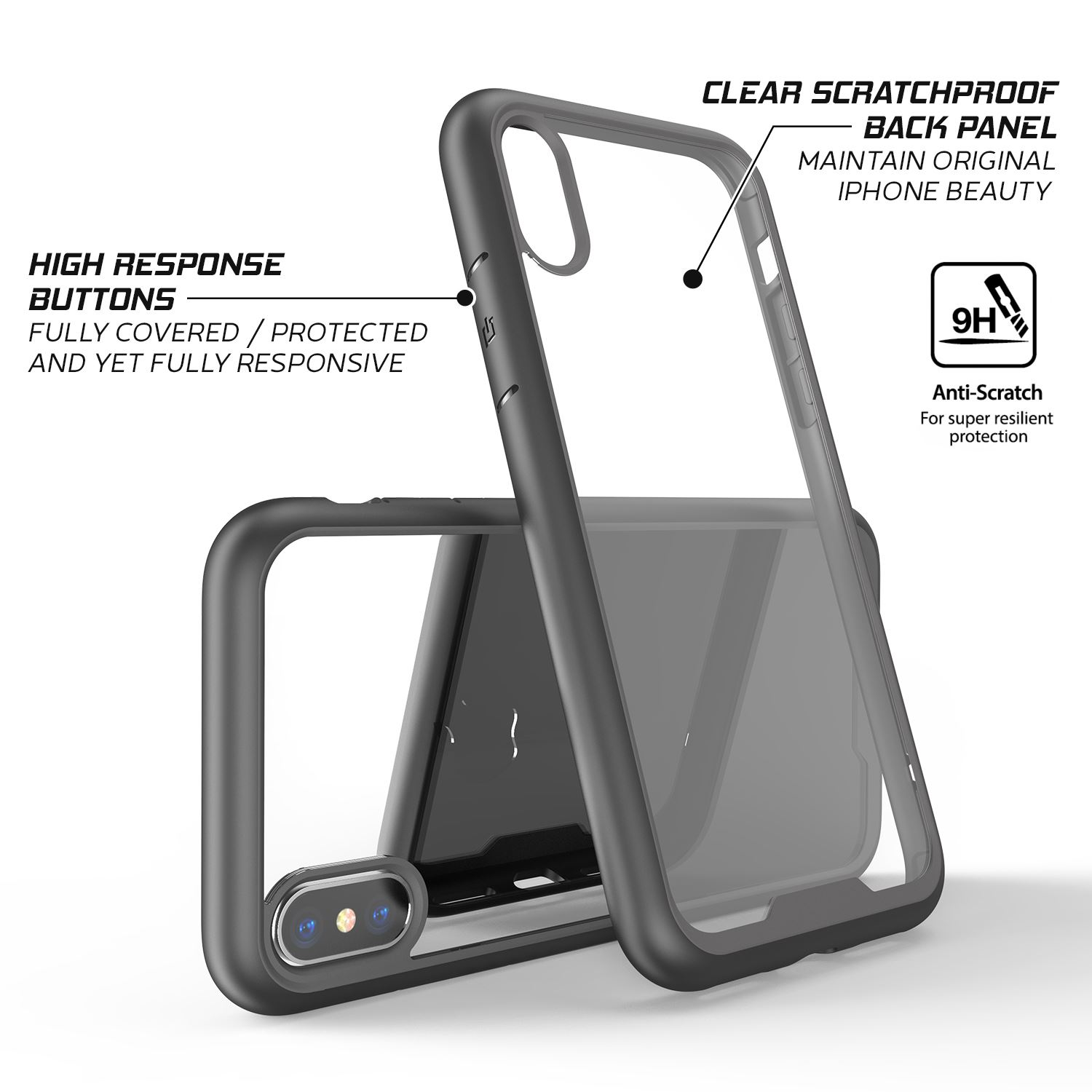 thumbnail 17 - For Apple iPhone XR Xs Max X 8 7 Plus 6 Se 2020 Case Cover Clear Shockproof Thin
