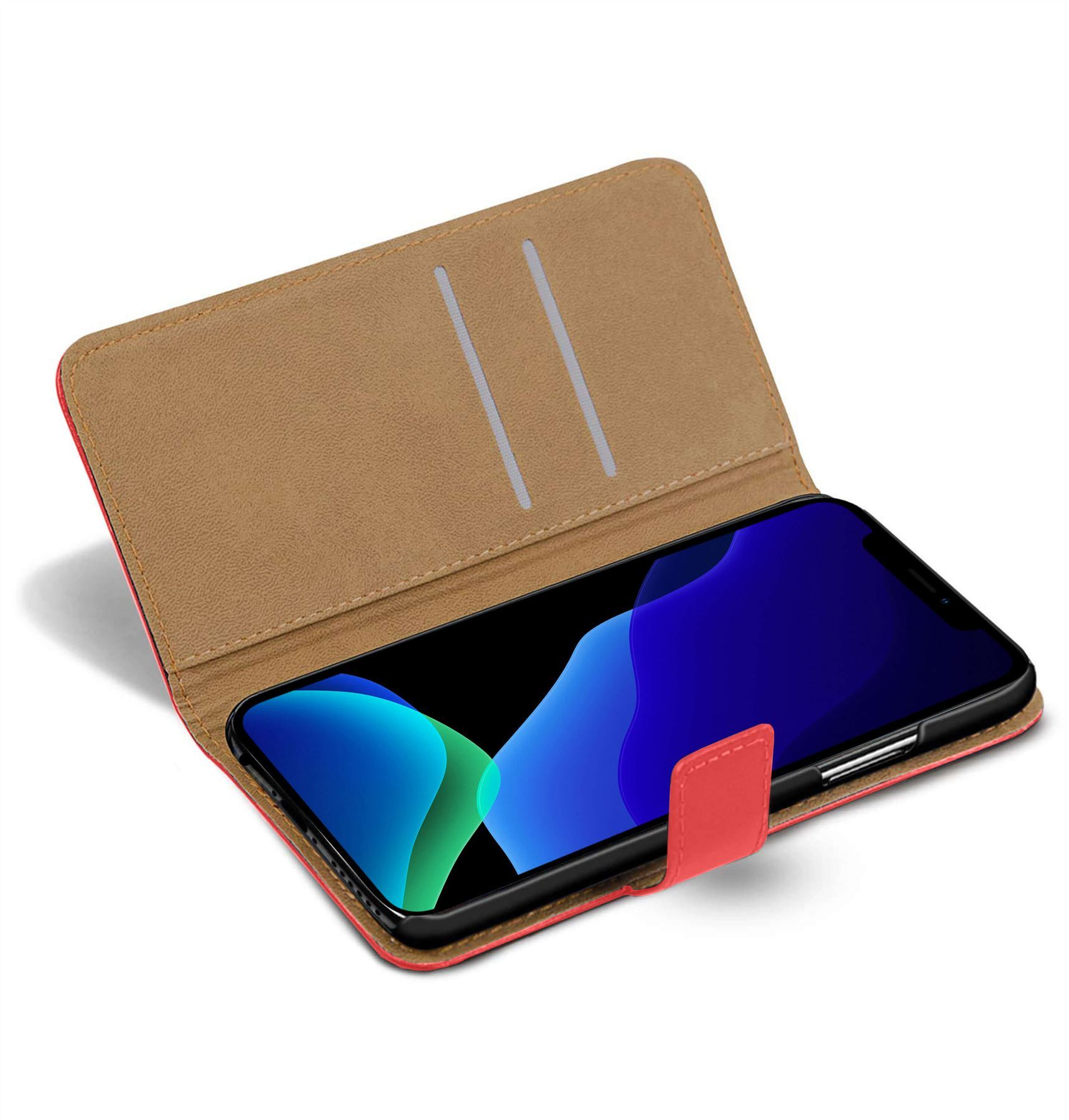 thumbnail 53 - For Apple iPhone 12 11 XR XS Max Leather Flip Wallet Magnetic Stand Card Case
