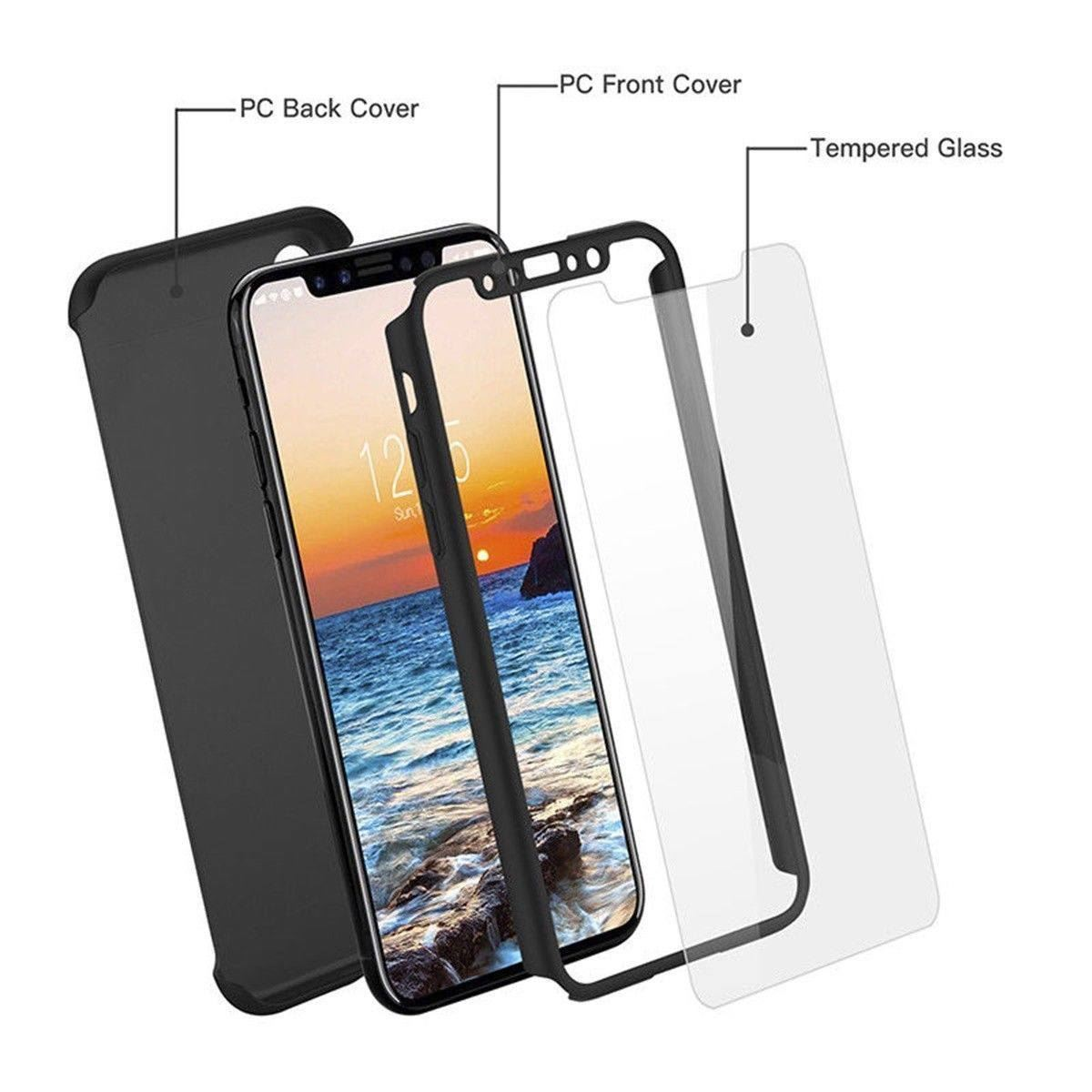 For-Apple-iPhone-XS-Max-XR-Hybrid-360-Slim-Ultra-Thin-Heavy-Duty-Shockproof-Case thumbnail 23