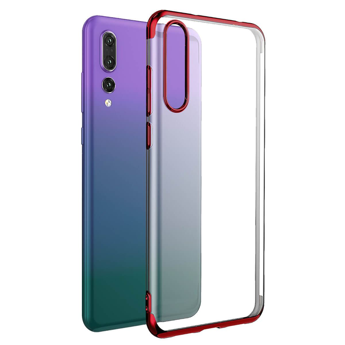 Case-For-Huawei-P20-Pro-P-Smart-Stylish-Hybrid-Shockproof-Plating-Silicone-Cover thumbnail 14