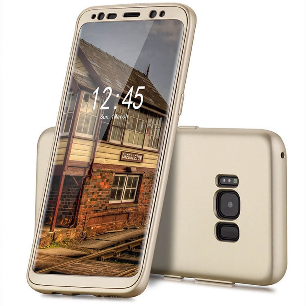 New-ShockProof-Hybrid-360-TPU-Thin-Case-Cover-For-Samsung-Galaxy-S7-edge-S8-S9 miniatuur 57