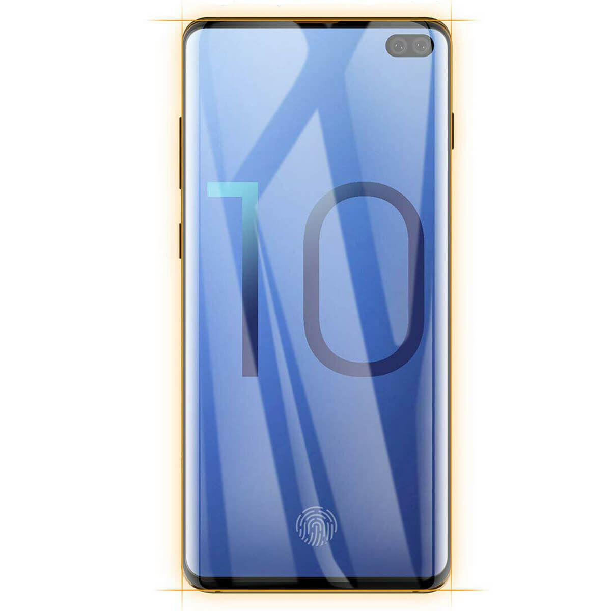 Screen-Protector-Film-Full-Coverage-Curved-Fit-Samsung-Galaxy-S10-S10E-Plus thumbnail 3