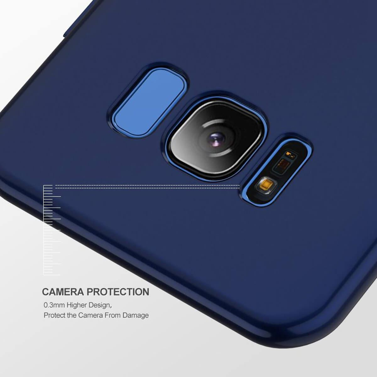 New-ShockProof-Hybrid-360-TPU-Thin-Case-Cover-For-Samsung-Galaxy-S7-edge-S8-S9 miniature 48