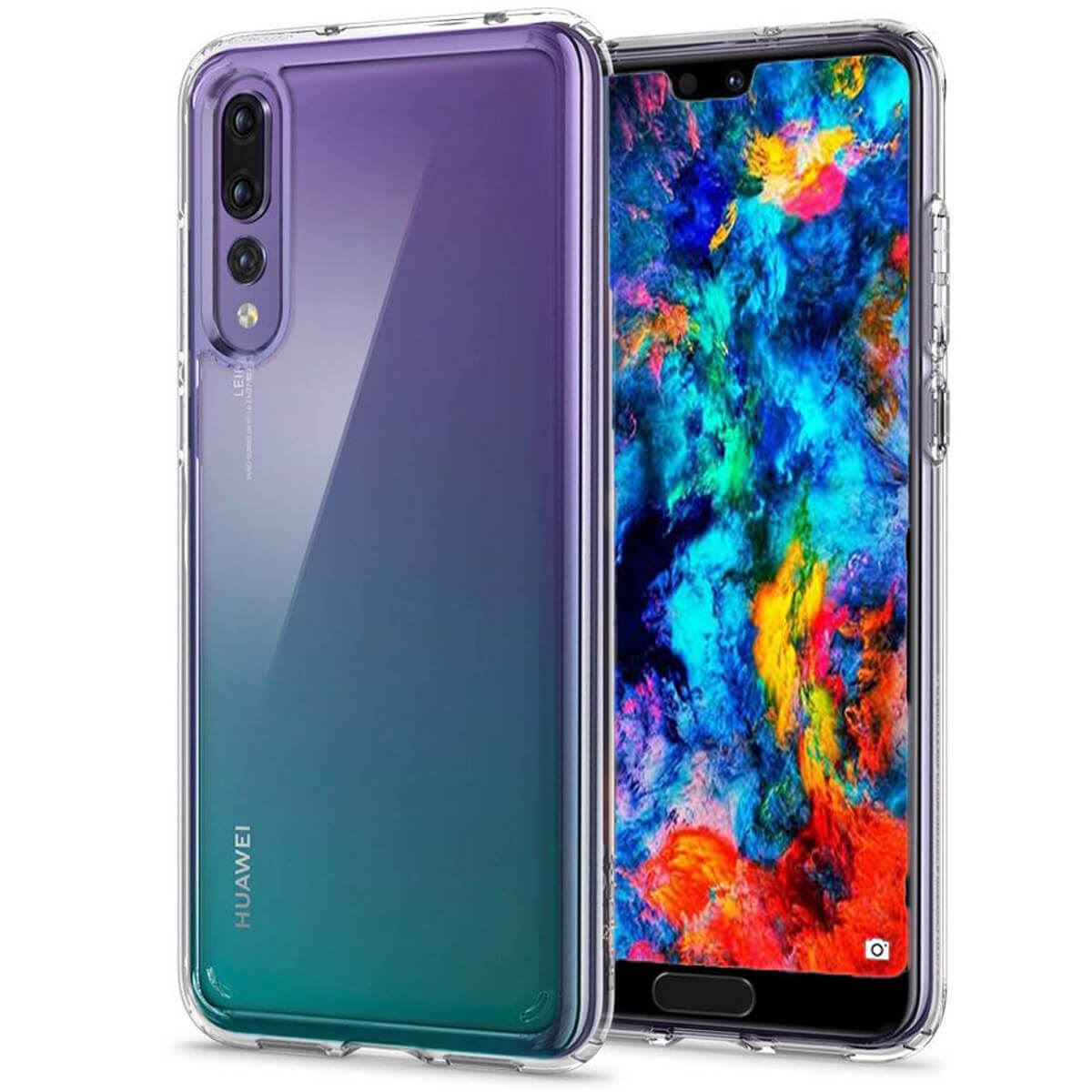 Case-For-Huawei-P20-Pro-P-Smart-Shockproof-Silicone-Protective-Clear-Gel-Cover thumbnail 3