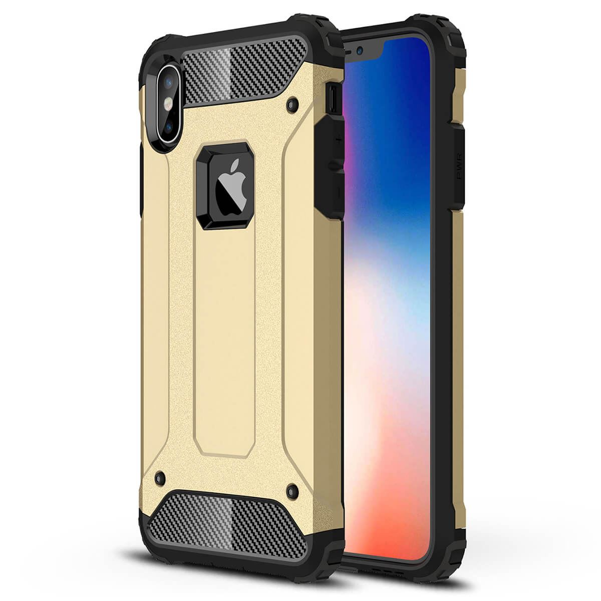 Shockproof-Bumper-Case-For-Apple-iPhone-10-X-8-7-Plus-6s-5s-Hybrid-Armor-Rugged thumbnail 10