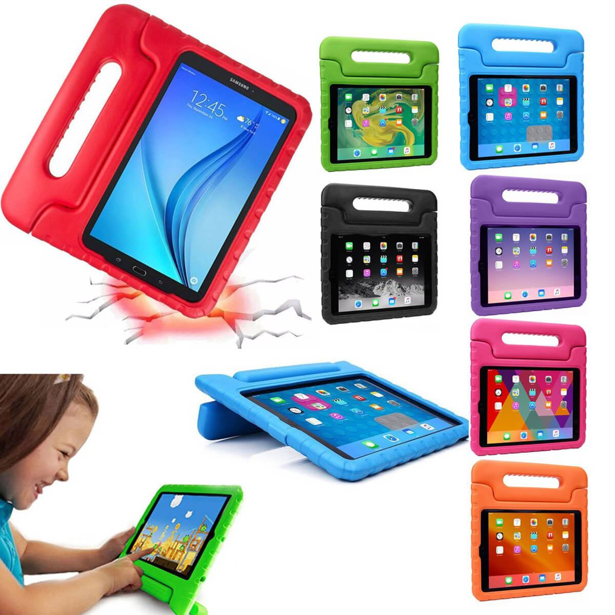 Case-For-Apple-iPad-Kids-Lightweight-Friendly-Shockproof-Maximum-ProtectiveCover thumbnail 5