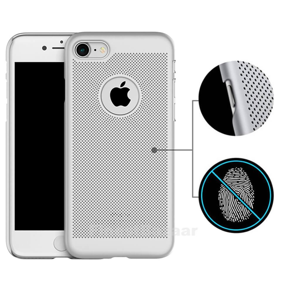 Luxury-Ultra-Thin-Slim-PC-Mesh-Hard-Back-Case-Cover-Apple-iPhone-10-X-8-7-6s-5s