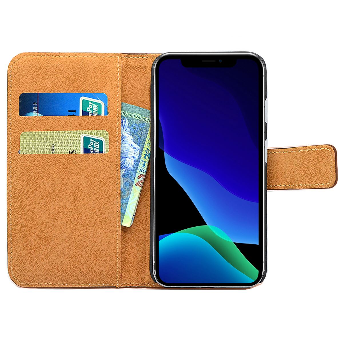Flip-Card-Wallet-Case-For-Apple-iPhone-11-Pro-Max-X-Luxury-Leather-Phone-Cover thumbnail 6