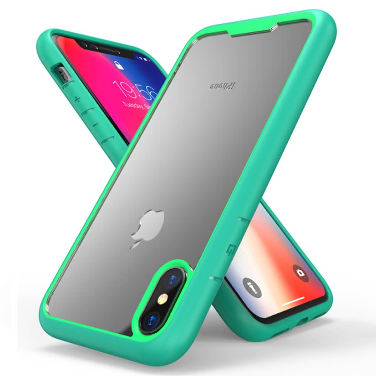 Shockproof-Bumper-Case-For-iPhone-X-XS-XR-6-Plus-7-Plus-6-Plus-Hard-Armor thumbnail 11