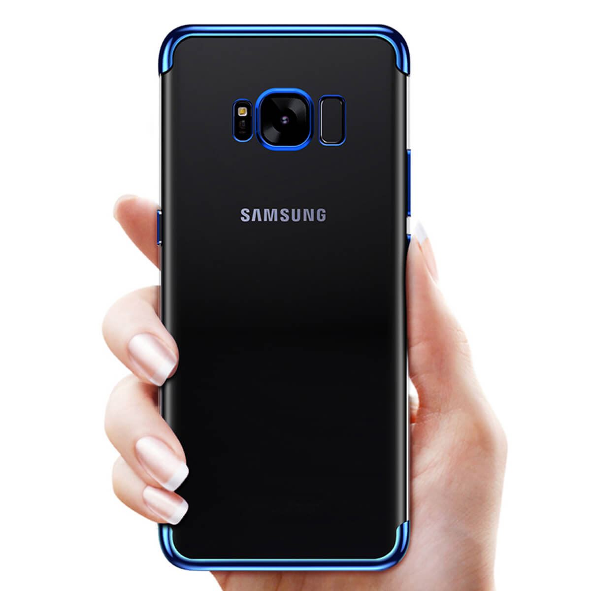 Ultra-Slim-Shockproof-Case-For-Samsung-Galaxy-S8-S9-Luxury-Silicone-Clear-Cover thumbnail 3