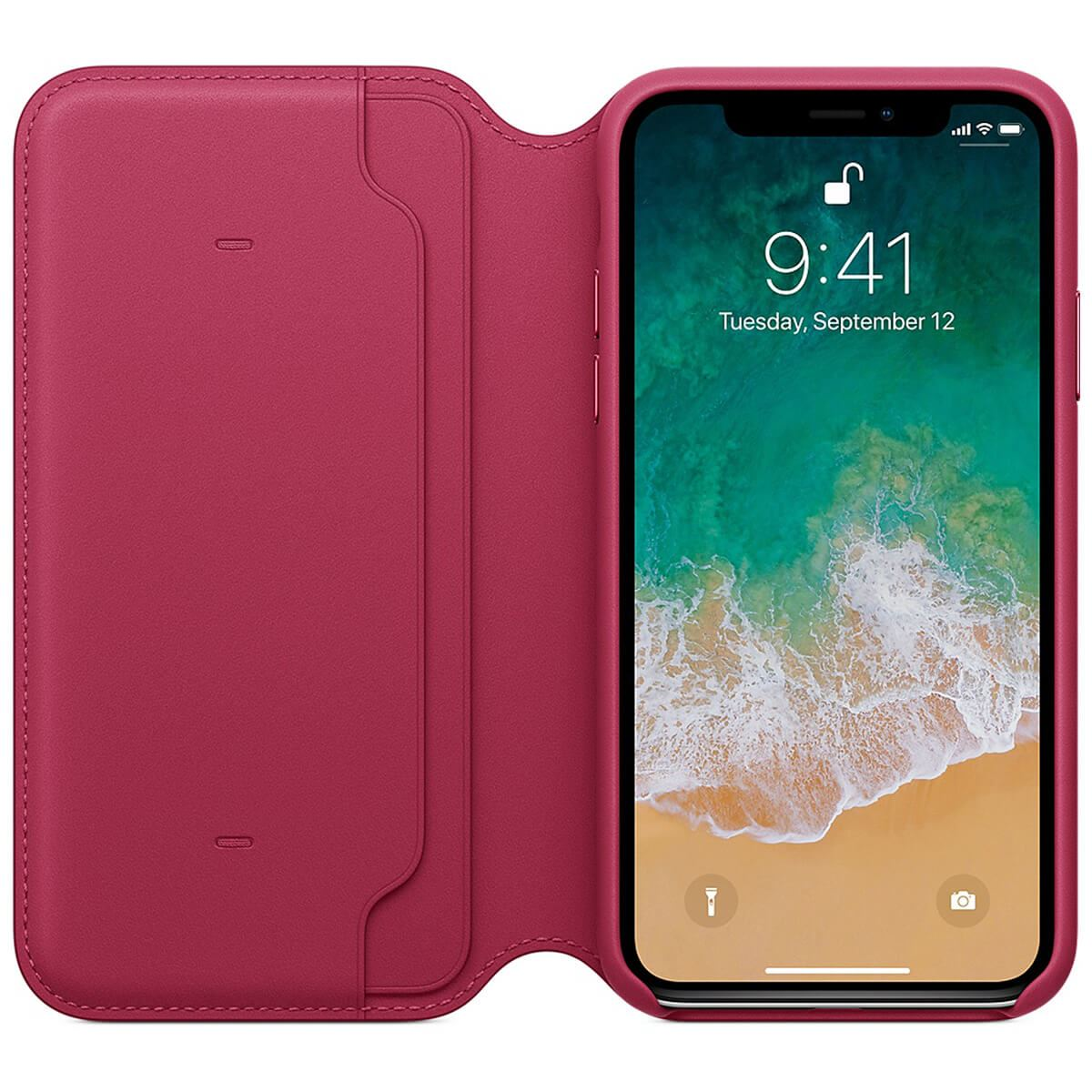 Genuine-Leather-Folio-Flip-Wallet-Case-Cover-For-Apple-iPhone-X-8-7-6S-6-Plus thumbnail 47