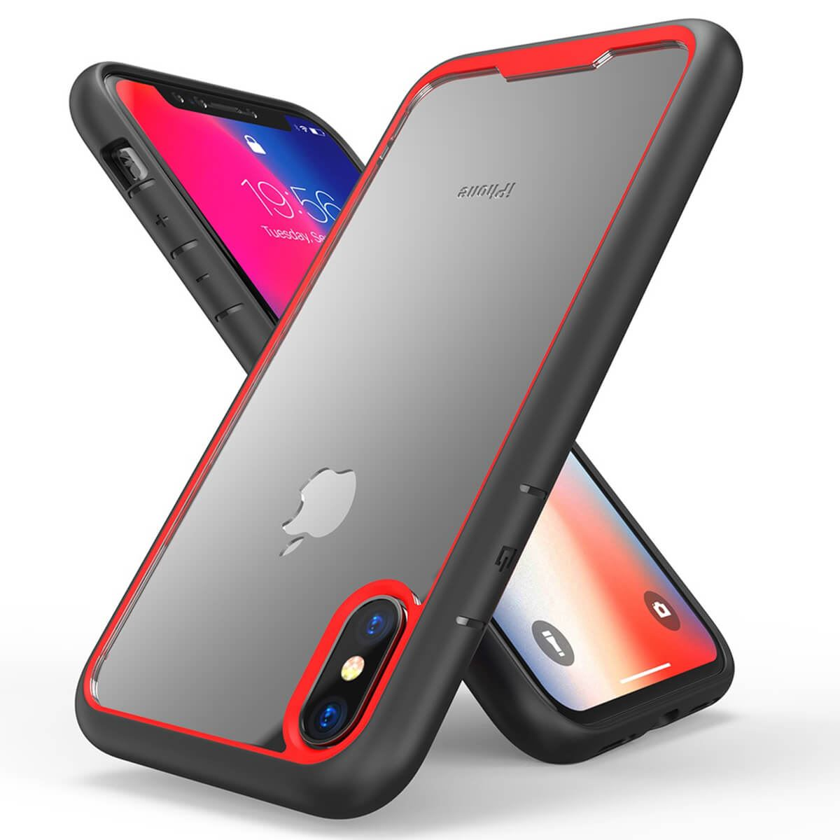 Shockproof-Bumper-Case-For-iPhone-X-XS-XR-6-Plus-7-Plus-6-Plus-Hard-Armor thumbnail 15