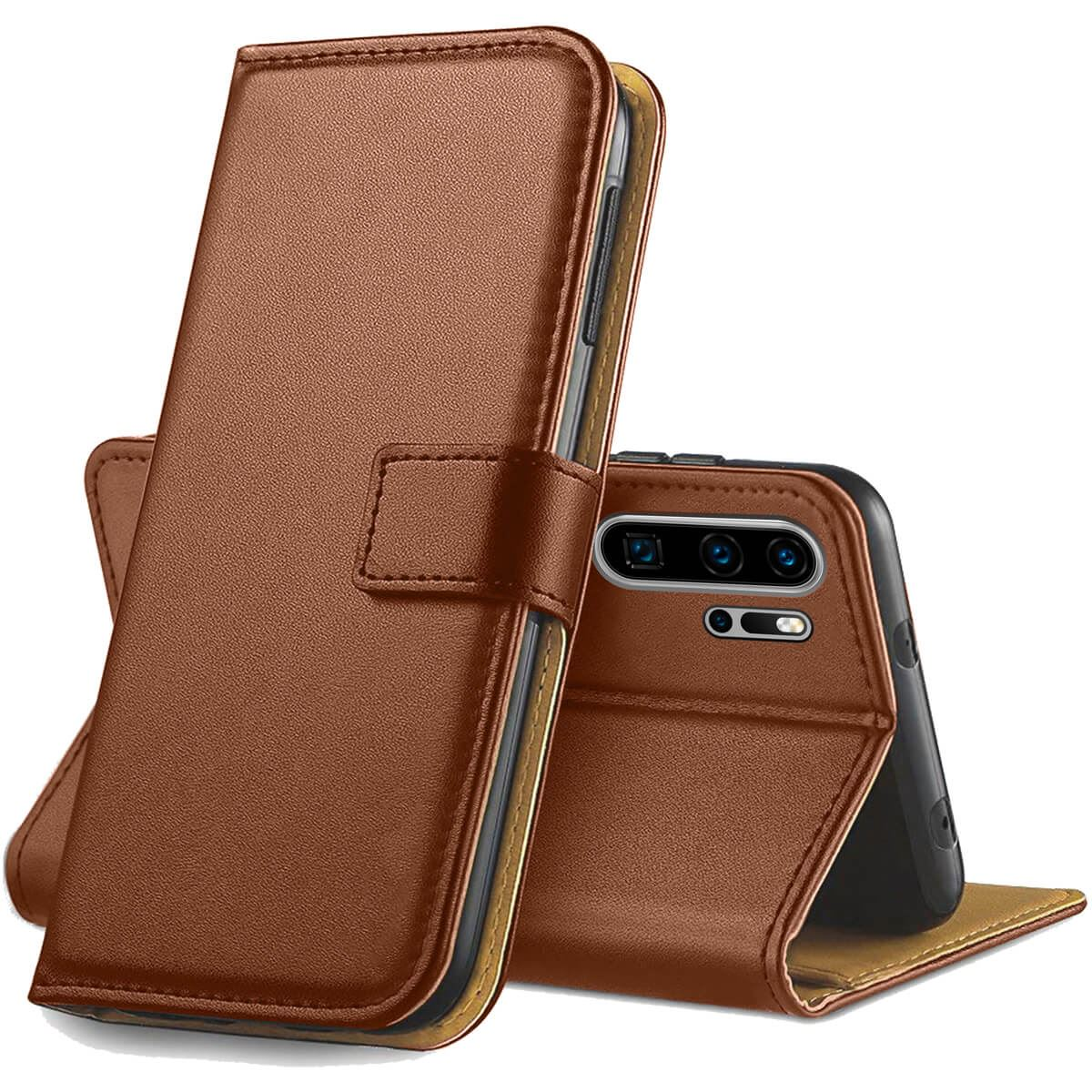 Flip-Cover-For-Huawei-P30-Lite-Pro-Leather-Wallet-Style-With-Magnetic-Closure thumbnail 7