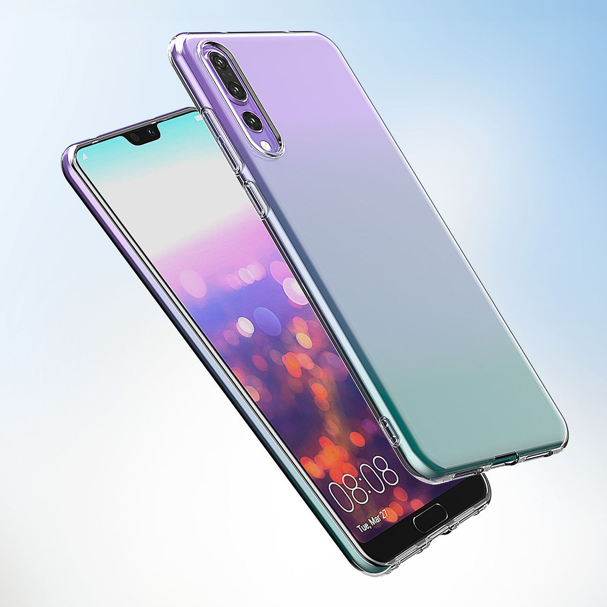 Shockproof-Silicone-Protective-Clear-Gel-Cover-Case-For-Huawei-P20-Pro-P-Smart thumbnail 58